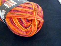 Austermann Step Sock Yarn #55, Mardi Gras