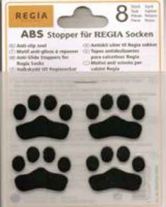 Regia ABS Anti Slip Iron on Stopper Pads - Black