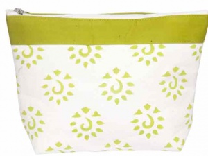Knit Pro Amber Big Zipper Pouch - Neon Green
