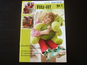 Anchor Wash + Filz It  Book 1 - Wonderful Slippers