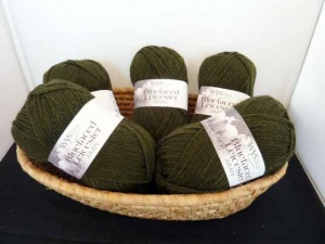 West Yorkshire Spinners Blue Faced Leicester Aran, Avocado