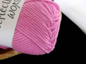 Euro Yarn Babe Soft Cotton Worsted #06, Pink Dolly