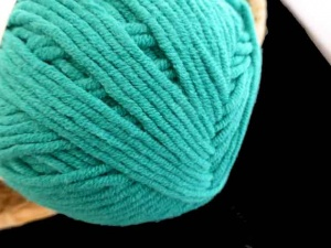 Euro Yarn Babe Soft Cotton Worsted #16, Baby Pea