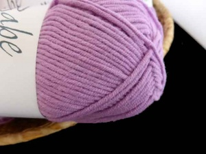 Euro Yarn Babe Soft Cotton Worsted #07, Violet