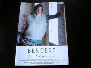 Bergère de France Crocheted Sleeveless Blouson Pattern