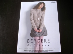 Bergère de France Portrait Neck Sweater Pattern