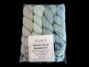 Artyarns Merino Cloud Gradients Kit in Blue