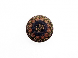 Rowan Ethnic Floral Buttons