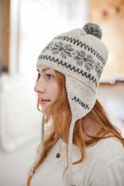 Brooklyn Tweed Polar Hat with Earflaps