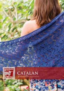 Juniper Moon Farm Catalan Shawl Zooey Pattern
