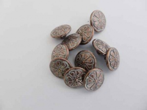 Small Copper Spray Buttons