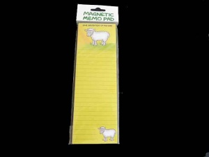 Dublin Gift Company Magnetic Memo Pad - Ewe Brighten Up my Day