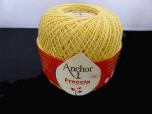 Anchor Freccia 3 Ply Crochet Thread #293 - Buttercup
