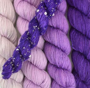 Artyarns Gradients Glitter Kit - Purple