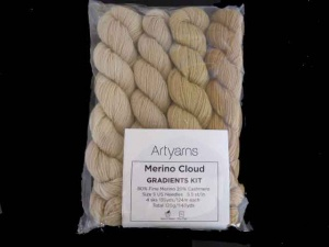 Artyarns Merino Cloud Gradients Kit in Gold