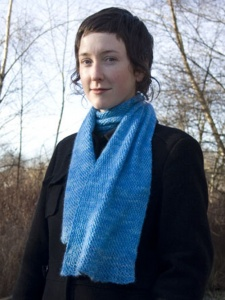 Hand Maiden Crisscross Scarf Kit - Sea Foam