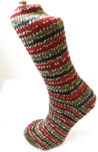 West Yorkshire Spinners Holly Berry Socks