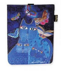Laurel Burch Indigo Cats Tablet Case