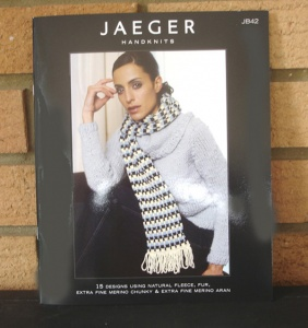 Jaeger JB #42 Designs for Fur, Fleece, Merino DK and Aran
