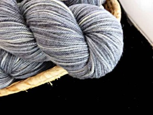 Juniper Moon Farm Findley DK Dappled #108, Slate