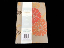 Rowan Fabric Covered Journal - Fawn