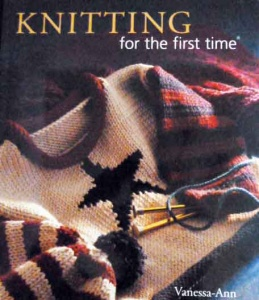 Knitting for the First Time by Vanessa-Ann