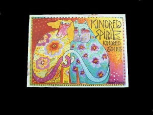 Laurel Burch ''Kindred Spirits'' Any Occasion Card