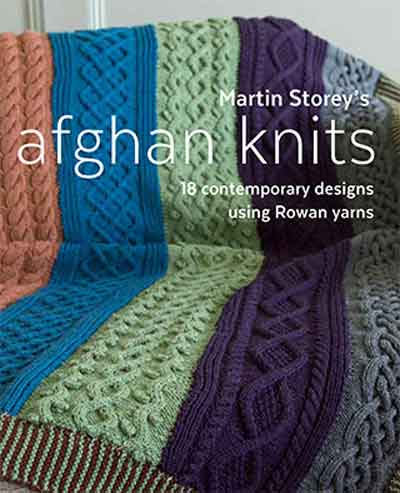 Martin Storey Knitting Patterns : Afghan Knits by Martin Storey Jannettes Rare Yarns