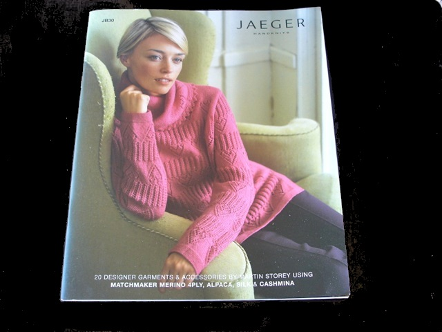 Jaeger Jb 30 Designs For 4 Ply Yarns Jannettes Rare Yarns