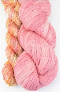Artyarns Lazy Days Shawl Kit - Pink