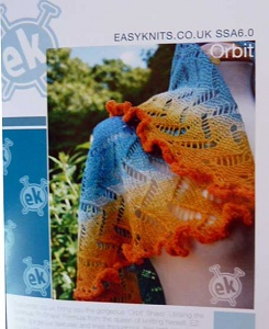 Easyknits Orbit Shawl Pattern