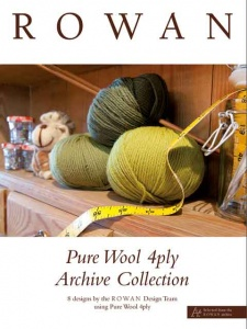 Rowan Pure Wool 4 Ply Archive Collection