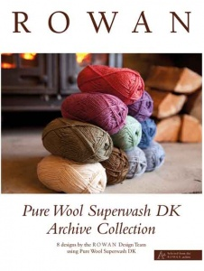 Rowan Pure Wool Superwash DK Archive Collection