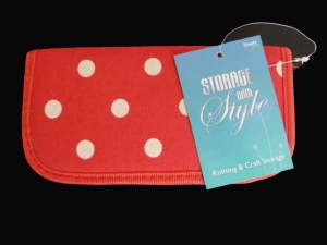 Storage with Style Red Crochet Hook Set