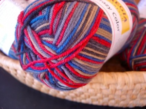 Regia 4 Ply  Wool Stretch Crazy Color  #118 - Nordic