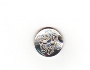 Rowan Engraved Small Shell Buttons