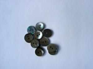 Rowan Medium Grey Pearl Buttons #316