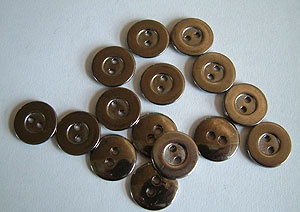 Rowan Small Gunmetal Buttons #405