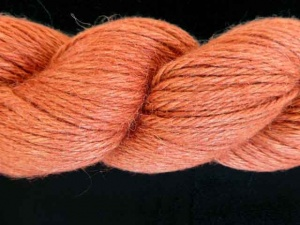 Aslan Trends Baby Llama and Mulberry Silk #3039, Rust