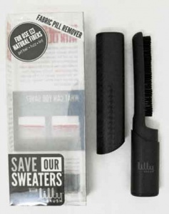 Save Our Sweaters -  Black Lilly Pill Removing Brush