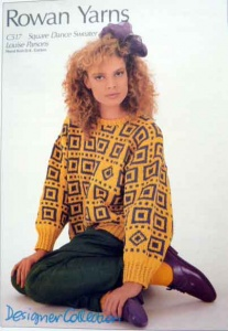 Rowan Louise Parsons Square Dance Sweater