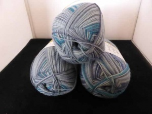 Regia 4 Ply Wool Strada  Colour  Sock Yarn - #4787, Fog