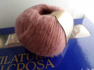 Filatura di Crosa Superior #70, Pale Plum