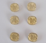 ''Gold'' Bark Buttons - Large