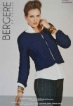 Berg�re de France Cashmere Edge to Edge Jacket Pattern
