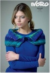 Noro Air Turn Back Collar Pattern