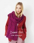 Debbie Bliss Bobble and Lace Shawl Pattern