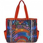 Laurel Burch Once in a Blue Moon Oversized Tote