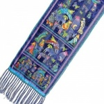 Laurel Burch Mythical Dogs Silk Scarf
