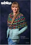Noro Ginger Poncho Pattern by Claudia Wersing